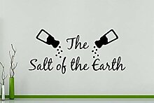 The Salt Of The Earth Wandkunst Aufkleber Bild