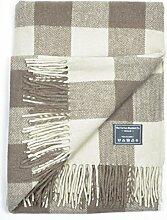 The Tartan Blanket Co. Recycelte Wolldecke in schottischem Karomuster Jacob