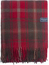 The Tartan Blanket Co. Recycelte Wolldecke