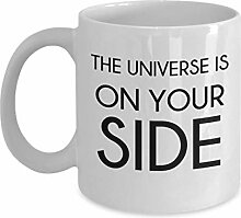 The Universe is On Your Side Tasse, 325 ml,