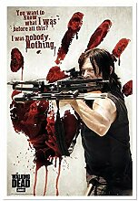 The Walking Dead Daryl Bloody Hand & Armbrust