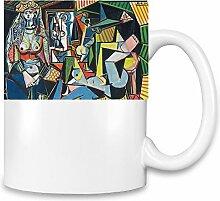 The Woman Of Algieris Picasso Painting Kaffee