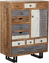 The Wood Times Kommode Highboard Schrank Massiv