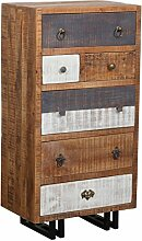 The Wood Times Kommode Schrank Vintage Massiv New