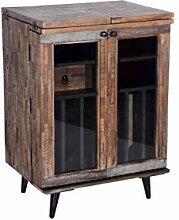 The Wood Times Weinschrank 'Kean' Holz