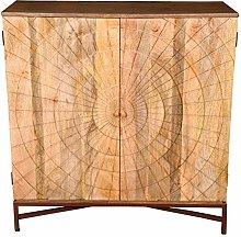 The Wood Times Weinschrank 'Sunny', FSC