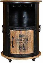 The Wood Times Weinschrank Vintage Hausbar Minibar