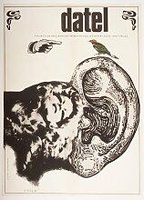 The Woodpecker Filmposter von Karel Teissig, 1970