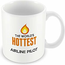 The Worlds heißesten Airline Pilot Becher 011