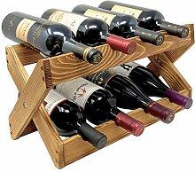 TheBarsentials Weinregal für 8 Flaschen aus