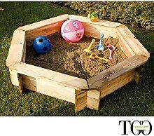 TheGoodGarden Sandkasten für den Außenbereich,