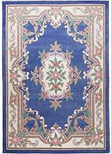 THEKO die markenteppiche Teppich klassisch blau