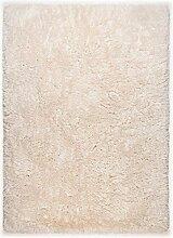 Theko Royal Flokati Teppich, 100% Baumwolle,