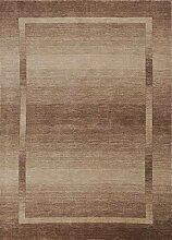 Theko Teppich klassisch Farbe braun Grösse 140 x