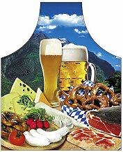 Themen/Motiv-Fun/Spaß-Grill/Kochschürze/ Rubrik Bayern: Bayerische Brotzeit - inkl. Spaß-Urkunde