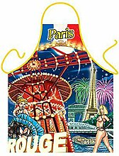 Themen/Motiv-Fun/Spaß-Grill/Kochschürze/ Rubrik Frankreich: Paris Moulin Rouge - inkl. Spaß-Urkunde