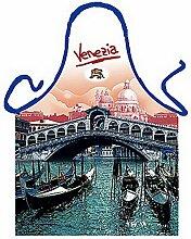 Themen/Motiv-Fun/Spaß-Grill/Kochschürze/ Rubrik Italien: Venezia Rialto - inkl. Spaß-Urkunde