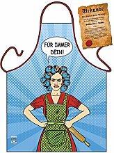 Themen/Motiv-Fun/Spaß-Grill/Kochschürze/ Rubrik lustige Sprüche: Für immer Dein! - inkl. Spaß-Urkunde