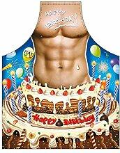 Themen/Motiv-Fun/Spaß-Grill/Kochschürze/ Rubrik sexy Motive: Happy Birthday Man - inkl. Spaß-Urkunde