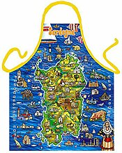 Themen/Motiv-Fun/Spaß-Grill/Kochschürze/ Thema Nationalität: Sardegna - inkl. Spaß-Urkunde