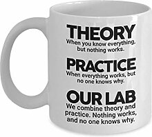 Theory and Practice Tasse, 325 ml, Keramik, weiß,