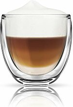 Thermo Glas Doppelwandig Latte Macchiato Cocktail