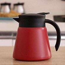 Thermo-Kaffee-Karaffe Teekanne – Edelstahl,