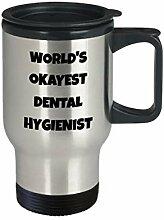Thermobecher für Zahnhygiene, lustige