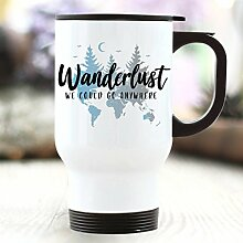 Thermobecher Wanderlust - We Could go Anywhere -