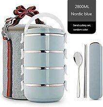 Thermobehälter Stapelbare Thermo-Brotdose