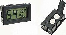 Thermometer/Hygrometer, digital mit LCD, für