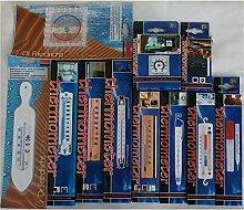 Thermometerkiste Nr.1 Sonderposten 10 Thermometer Gartenthermometer