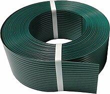 Thermoplast® SICHTSCHUTZSTREIFEN 9,5cm x 52m = 4,94m2, Grün, 5 JAHRE Garantie