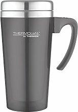 Thermos 4061.235.040 Trinkbecher Color TC, grau 0,4L Trinkbecher, Plastik, Grau, 12,5 x 12,5 x 17,5 cm