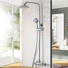Thermostat Badewanne Wasserhahn Dusche Set