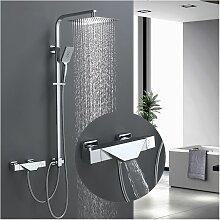 Thermostat Duschsystem mit Trennbar