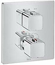 Thermostat-Mischer zum Einbauen der Dusche
