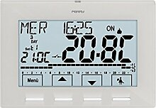 Thermostat Wandhalterung weiß Stromversorgung A