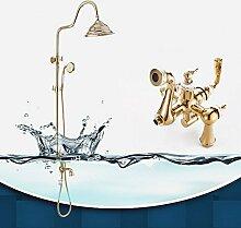 Thermostatische dusche Wasserhahn European Copper