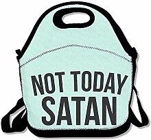 Thermotasche,Nicht Heute Satan Black Design