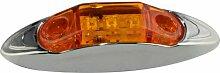 THG LED Seitenmarkierungsleuchte gelb DC12V - 24V für PKW Anhänger