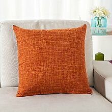 Thick Cotton Pillow Cushion,Sofa Seat Chair Waist Pillow,Bed Pillow-C 45x45cm(18x18inch)VersionA
