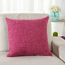 Thick Cotton Pillow Cushion,Sofa Seat Chair Waist Pillow,Bed Pillow-G 45x45cm(18x18inch)VersionB