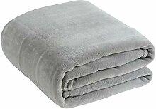 Thick Flanell Decke Handtuch wirft für Bett Sofa