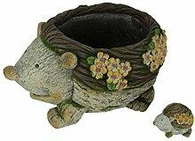 Things2Die4 Pflanzgefäß für den Garten, Igel,
