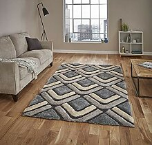 Think Rugs Noble House nh8199Shaggy Teppich,