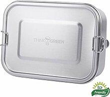 ThinkGreen *Premium* Edelstahl-Lunchbox/Brotdose