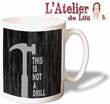 This is not a drill Lustige Keramisch Kaffeetasse Mug - Originelle Geschenkidee - Spülmachinenfes