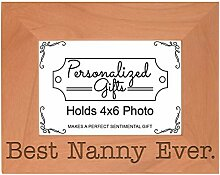 ThisWear Mothers Day Gifts Best Nanny Ever Natur