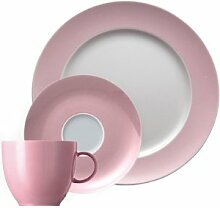 Thomas Sunny Day Light Pink Kaffeegedeck 3tlg.
